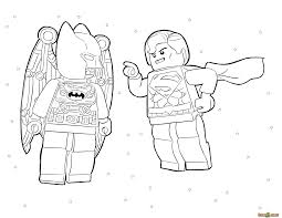 Lego batman movie and superwoman. Lego Superman Coloring Page Coloring Home