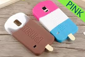 samsung galaxy s5 3d cases. fashion pink 3d ice cream silicone case for samsung galaxy s5 wholesale 3d cases 2