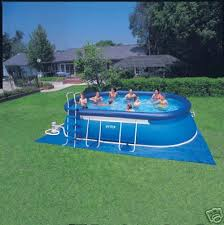 Intex Oval Swimming Pool Ellipse UK Frame Pools Cover Above Ground