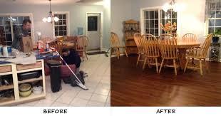 flooring over tile install laminate
