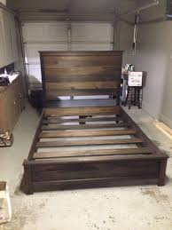 headboard and frame step by step guide bed designs wooden bed