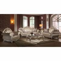 formal living room furniture. Elegant Metallic Pearl Button Tufted Leather Formal Living Room Sofa Set Furniture H