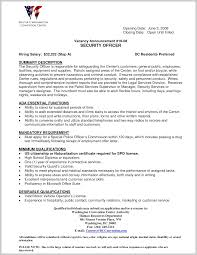 Security Officer Resume Examples Striking Design Of Security Officer Resume Sample 24 Resume 6