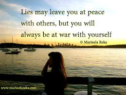 Quote About Lying To Yourself Best of Quote About Lying To Yourself Short Poems And Quotes Marinela Reka
