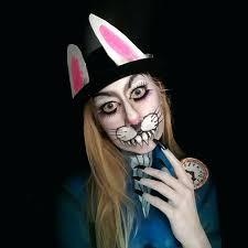 bunny face evil bunny makeup idea bunny costume face