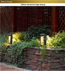 Cheap Landscape Lighting Kits Us 492 0 Aluminum Alloy Outdoor Led Garden Bollard Path Lights 6w Ip54 Walkway Exterior Lawn Lamps Led Landscape Pathway Lighting Kit In Outdoor