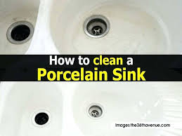 stained porcelain sink probably seen a grimy or two in your lifetime think gas cleaner w26