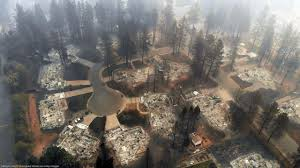 Most Destructive California Wildfires In History Camp Fire Tops The