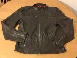 superdry real hero biker jacket brown real leather bnwt mens superdry jackets brown superdry