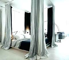 canopy bed curtains queen – Premsingh