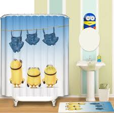 Minions Pattern <b>Shower Curtain</b> Customized <b>Shower Curtain</b> ...
