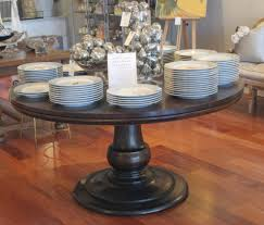 photo 5 of 6 wondrous ash pedestal table which then espresso round pedestal table ipend in pedestal dining table