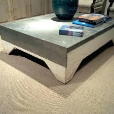 zinc top coffee table zinc top coffee table awesome pottery barn rectangular round zinc top coffee