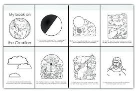 God Created Everything Coloring Pages Best Of 25 Free Creation