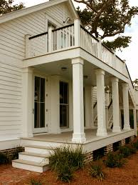 Pillar shape Porch Balcony Design, Pictures, Remodel, Decor and Ideas