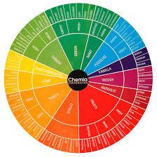 Chemia Fragrance Wheel Essential Oil Perfume Perfume