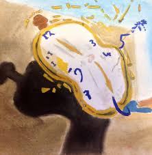salvador dali melting clock my painting by