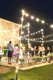 outdoor string lighting ideas outside hanging lights perfect charming backyard string lights best backyard string lights ideas on outdoor string