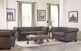 Roy Grey Living Room Set ...