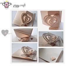Piggy <b>Craft metal</b> cutting dies cut die mold 3D <b>Love Heart</b> decoration ...