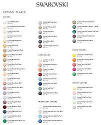 Swarovski Ab Color Chart Swarovski Color Charts 2019 Edition Modastrass Blog