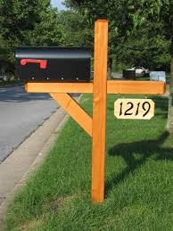 mailbox post ideas. Its Time To Make A New Mailbox Post This Is My Choice I Think Wooden Mailbox Post Ideas