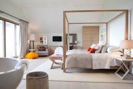 Scandinavian bedroom idea in Devon