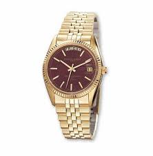 shop online for mens charles hubert gold plated brown dial watch gold watches men vishal jewelry