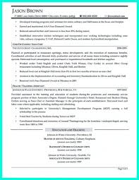 Culinary Resume Templates Chef Sample Cooking Exa Saneme