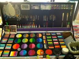 this is like my dream face painting kit