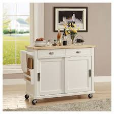 Small Picture Kitchen Island WoodWhite Linon Home Decor Target
