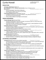 what should my resume look like com  what should my resume look like 5 curtis howell s