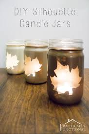 cute idea to turn mason jars into diy candle jars all you need are stickers