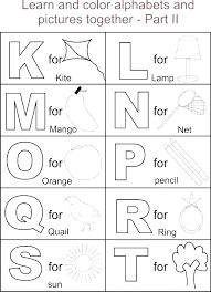 Free Printable Alphabet Worksheets A Z Preschool Design Templates ...