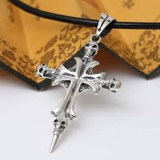 palace restoring ancient ways pendants 925 sterling silver jewelry silver skull pendant retro new mens and womens