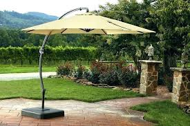 weighted patio umbrella base offset weights cantilever large size of with rolling outdoor stand table