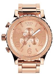 51 30 chrono men s watches nixon watches and premium accessories 51 30 chrono all rose gold