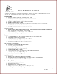 Examples Of Hospitality Resumes Examples Of Resumes