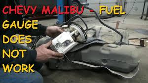 Chevrolet Malibu Gas Gauge Does Not Work - YouTube