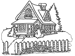 Small Picture House Coloring Pages Wecoloringpage