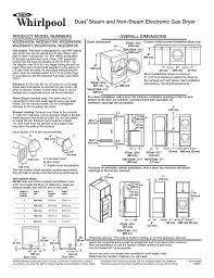 Whirlpool Wgd9470w Users Manual Manualzz Com