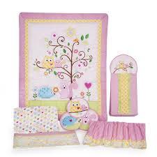 pink crib bedding sets for baby girls