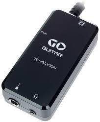 <b>TC Helicon</b> Go Guitar USB <b>аудио интерфейс</b> для <b>мобильных</b> ...