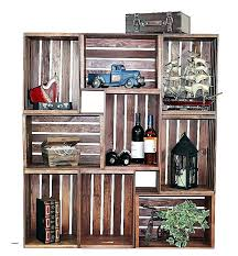 old wood crates wooden crate wall shelves elegant handy projects from style motivation high reclaimed diy antique advertising b