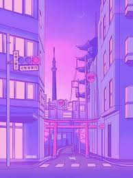 Purple Anime Aesthetic Wallpapers - Top ...