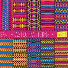 Aztec Patterns Unique Decorating Design