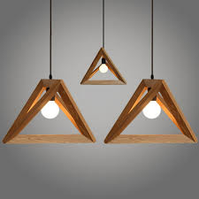 wood lighting. Triangle Design Wood Pendant Light-10.jpg Lighting