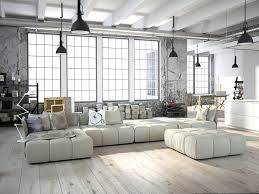 rooms with white furniture. modern living room with light hardwood flooring and white furniture rooms f