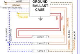 fluorescent ballast wiring diagram & universal magnetek 806 T5 Ballast Wiring Diagram at Allanson Ballast Wiring Diagram