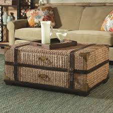Coffee Tables Chest As Coffee Table Steamer Trunk Stand